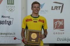 2015m. Lietuvos jaunimo gr.čempionas - Tomas Pagirys