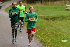 Agnė Černiauskaitė ir Matas Pagirys bėgime Aplink Lietuvą